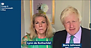 Boris Johnson with Lynn de Rothschild